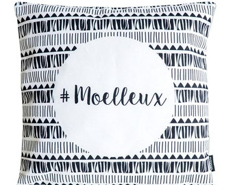 Cushion cover - #moelleux. Home decor, pillow, gift