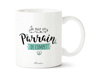 Godfather mug. I'm a godfather to compete ', Godfather, Godfather gift mug