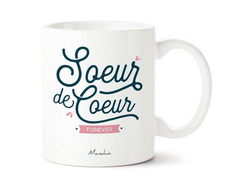 Mug Soeur De Coeur Forever Mug Pour Copine Cadeau Copine Cadeau Meilleure Amie Cadeau De Noel Cadeau Danniversaire