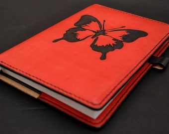 Leather Journal. Leather Notebook.