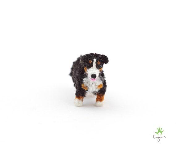 Miniature Bernese Mountain Dog Micro Amigurumi Bernese Etsy