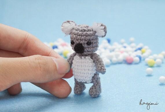 Miniatur Häkeln Koala Kleine Koala Kleiner Bär Amigurumi Etsy