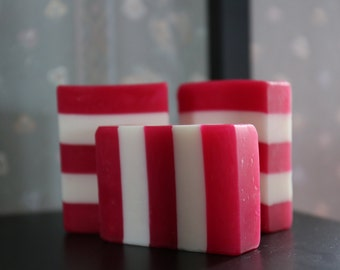 Candy Cane Peppermint Soap