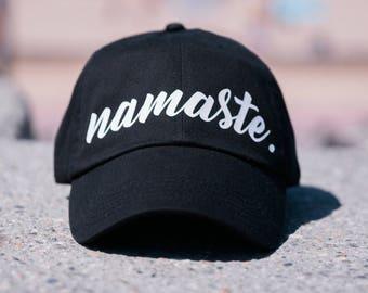 aeca717052334 Unisex Namaste Dad Hat