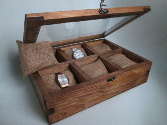 mens watch box box wood for box day gift box 12332