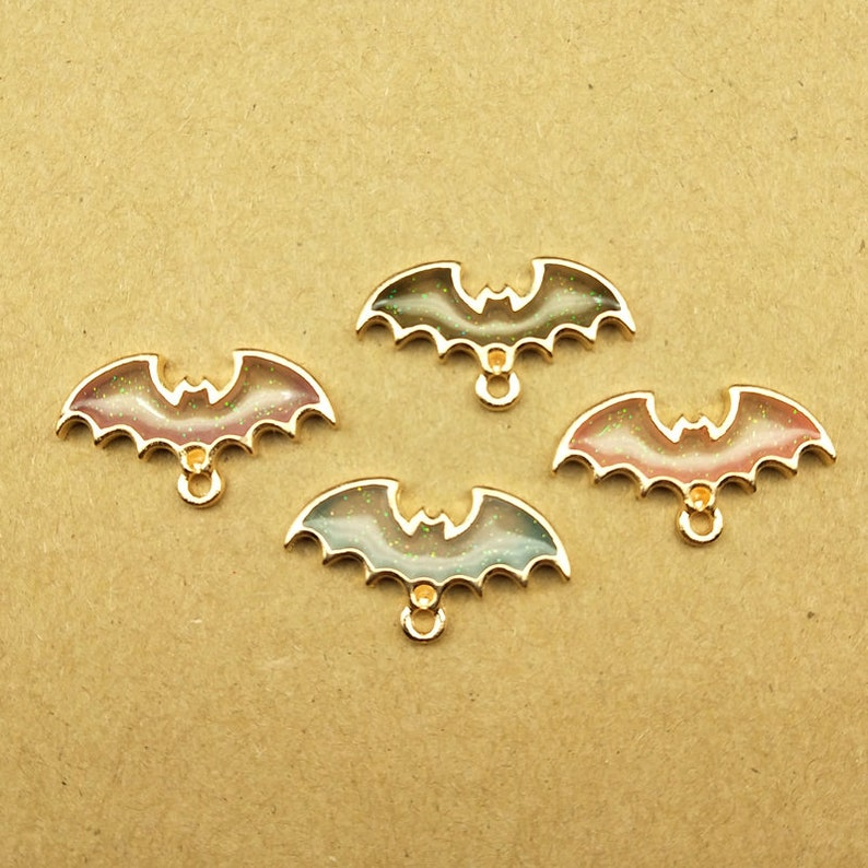 Home & Garden Fast Deliver 10pcs Halloween Pumpkin Beads Enamel Charms Pendant Diy Jewelry Findings
