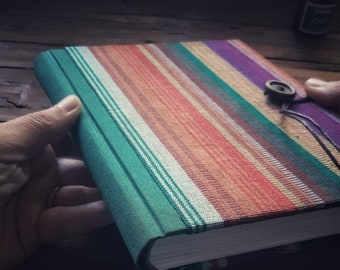 Striped cover notebook - on order