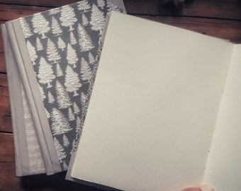 Notebook with ivory drawing paper