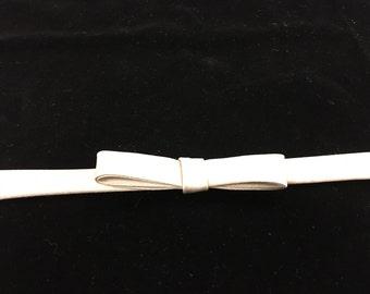 Bridal Bow/Waist Satin Belt