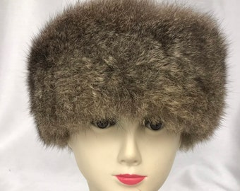5cba777d1c8 Vintage suede and Possum Hat