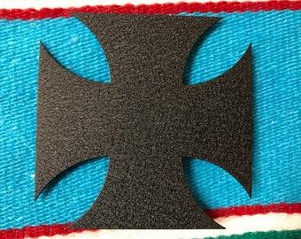 IRON CROSS MAGNET / Metal Magnet / Powder Coated Magnet
