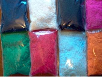 Flocking 1/2 oz Pkg - 50 Colors Available!!!  You Choose the Color You Want!