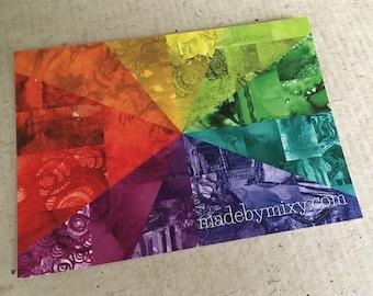Art Postcard '12 Colors'