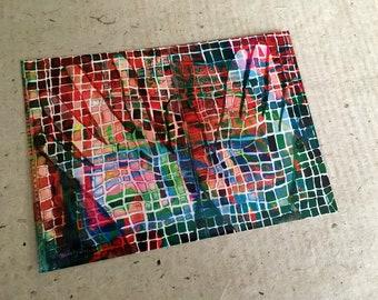 Art Postcard  'Both Hands'