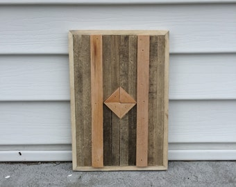 Mini Reclaimed Wood Wall Art