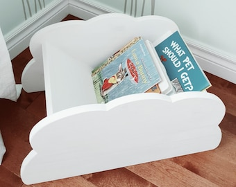 Nursery And Children Bookcase Book Caddy