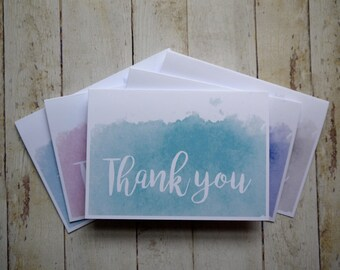 Thank You Cards Etsy Uk
