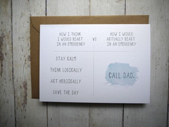 Funny Dad Birthday Card