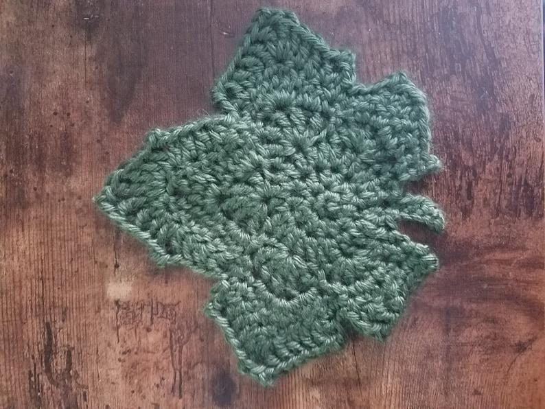 MythicPhoenix/'s Maple Leaf Crochet Pattern