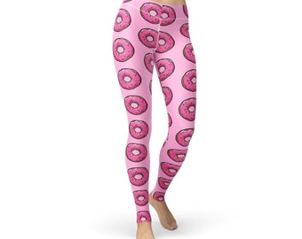 Pink Donut Leggings