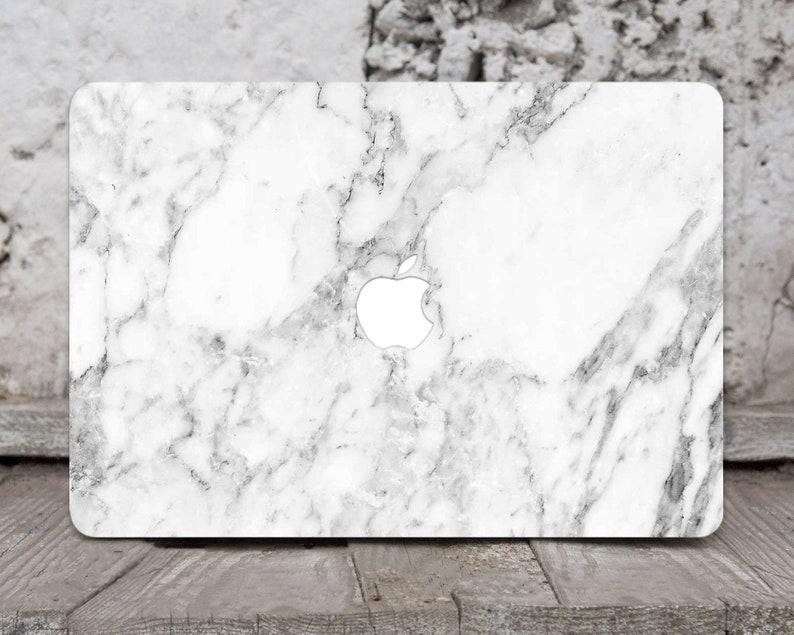 Marble Stone Granite Macbook 12 Air 11 13 Pro 13 15 Top Bottom Printed Case Skin