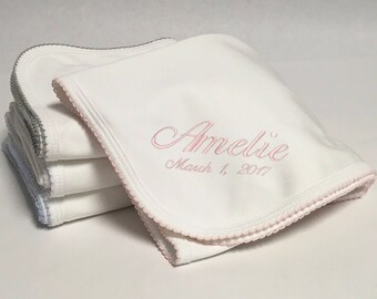 Pima Cotton Baby Blanket