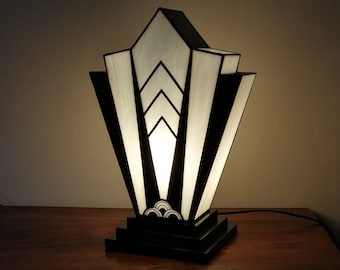 "Lamp XL Art Deco Tiffany ""1924"" N.B. XL"