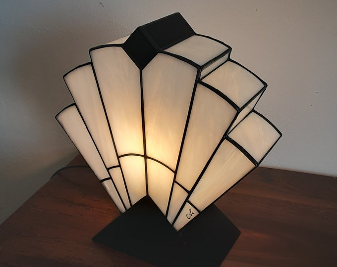 "Featured listing image: Tiffany Art Deco Lamp ""1923"" B.N."
