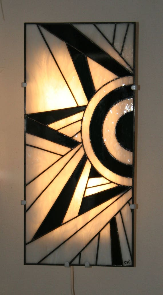 Wall Art Deco stained glass Tiffany Ycara