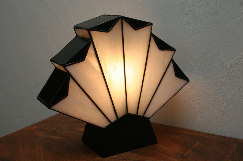 Lampe art déco lampe tiffany vitrail tiffany lampe à poser etsy