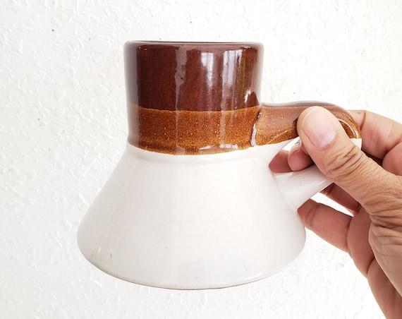 Vintage Narrow Neck Bottom Belly Coffee Mug