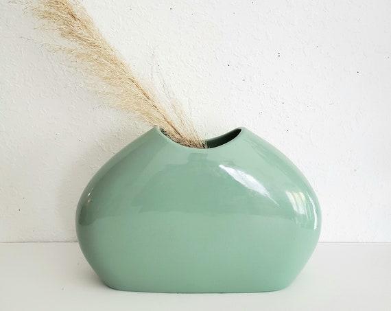 MCM Pastel Green/Mint Green Art Deco Vase