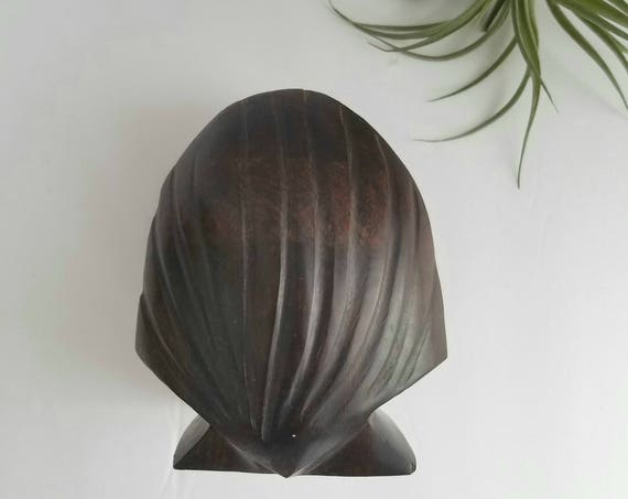 Solid Wood Shell Shaped Napkin Holder