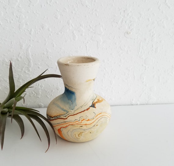 Vintage Nemadji Small Pottery Bud Vase