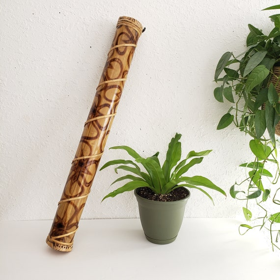 Burnt Design Tribal Rainstick