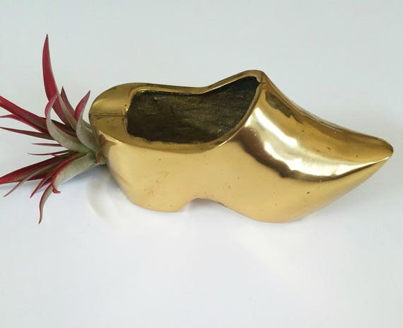 Solid Mini Brass Shoe/ Clog
