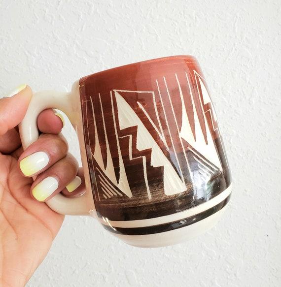 Cool Vintage Glazed Mesa Verde Mug