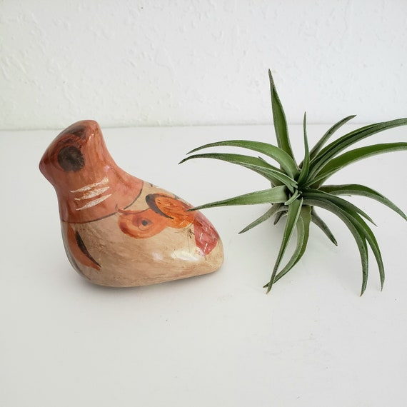Small Vintage Mexican Ceramic Bird