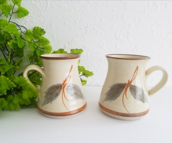 Set of 2 Vintage Australian Pottery Mugs