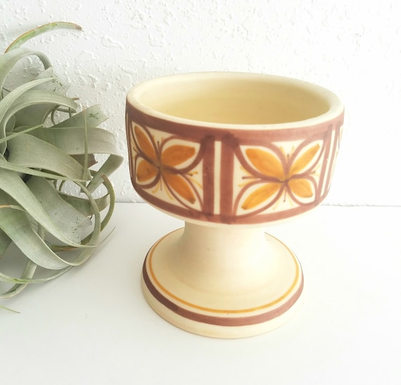 Vintage Mexican Talavera Candle Holder