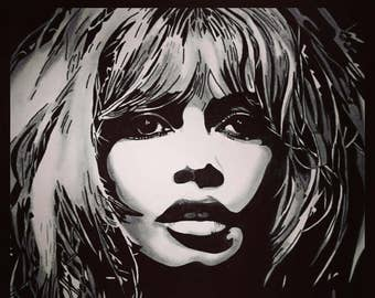 Brigitte Bardot (Original Artwork)