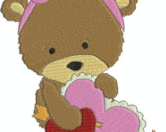 Sweet Valentines 4 Machine Embroidery Designs