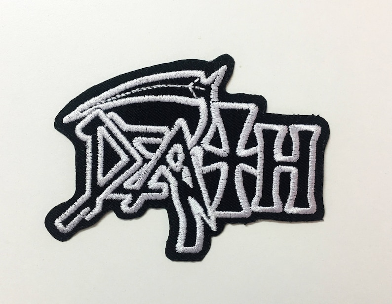 DEATH BAND EMBROIDERED PATCH Scream Bloody Gore Leprosy Spiritual