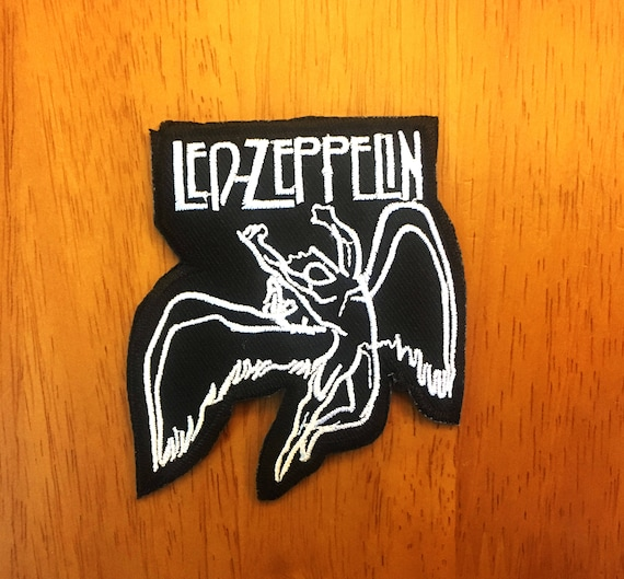 LED ZEPPELIN Rock band logo Embroidered iron on PATCH//Applique