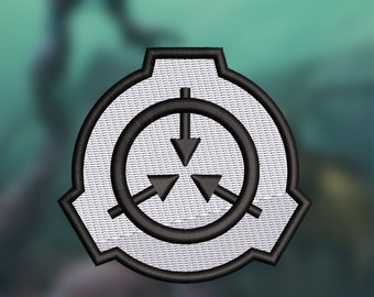 SCP foundation patch 3 inch (~7.62cm)
