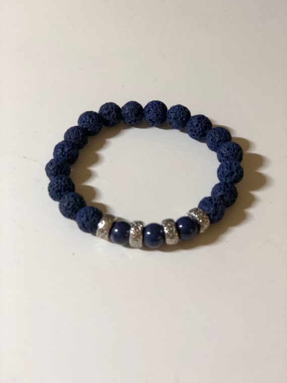 Aroma Therapy Bracelets available in Custom Sizes and Custom Color combinations: