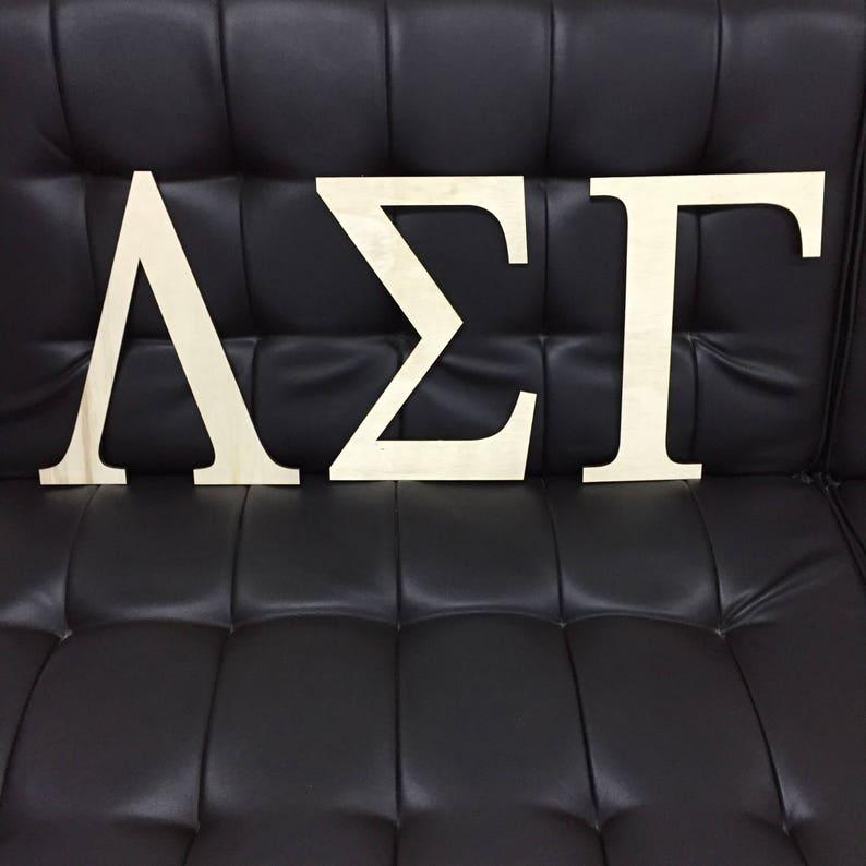 Greek Letters Wooden Sorority Letters Wooden Fraternity Letters Wooden Greek Letters Sorority Wall Decor Fraternity Wall Decor