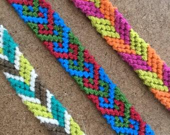 Woven Friendship Bracelets Etsy