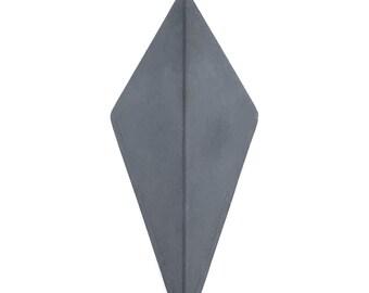 Concrete Coat Hook in Grey   otera