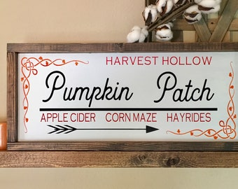 Pumpkin Patch Sign, Pumpkin Patch Decor, Fall Signs, Autumn Signs, Fall Decor, Autumn Decor, Pumpkin Patch Decor, Pumpkin Patch Signs, Fall